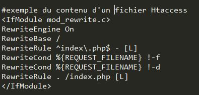 exemple de contenu d'un fichier htaccess