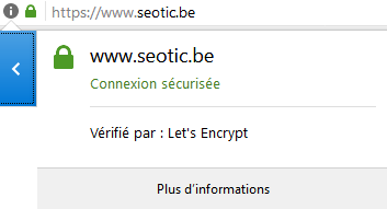 verification du certificat https