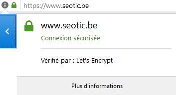 verification du certificat https