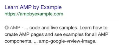 Format AMP Google